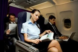 how to stay healthy on a plane