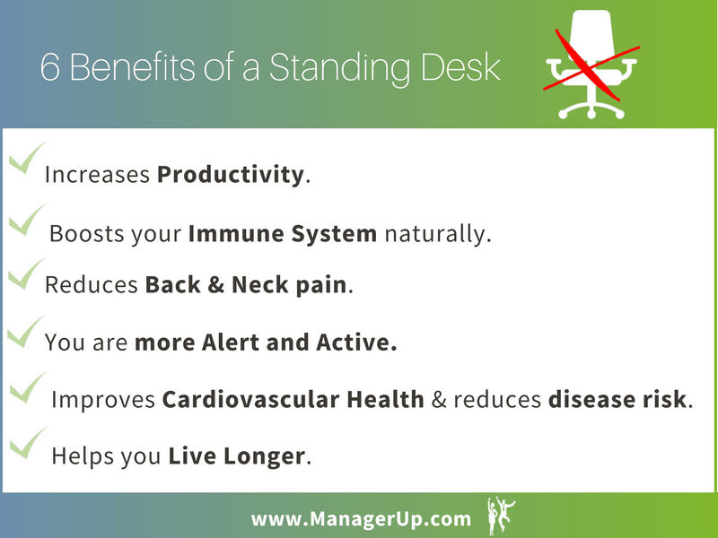 benefits of standing desks