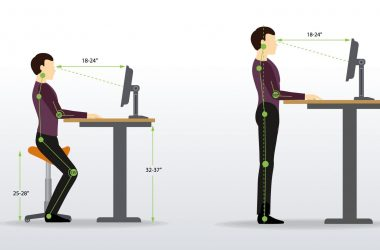 benefits of standing desks