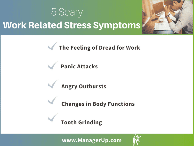 work related stress symptoms