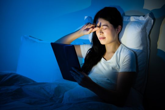 blue light and sleep